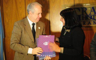 La Colectividad Italiana recibió la invitación oficial al Festival Internacional de Cine de Entre Ríos