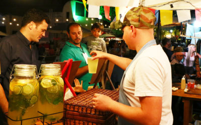 Patio gastronómico FICER: el festival del cine a través de los sabores